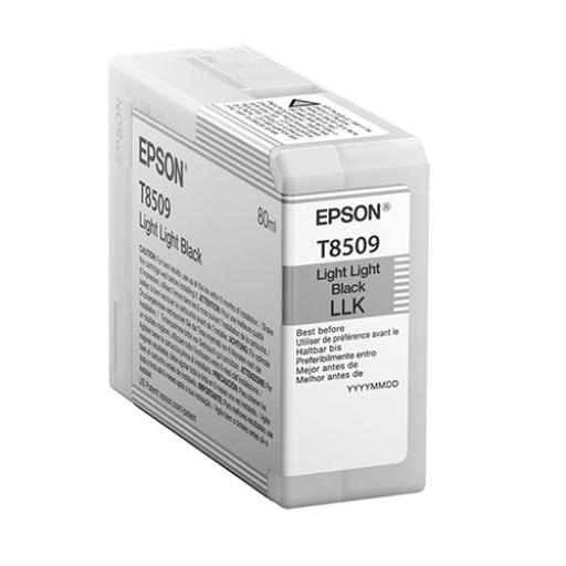 Epson T8509 Inkjet Cartridge 80ml Light Light Black Ref C13T850900