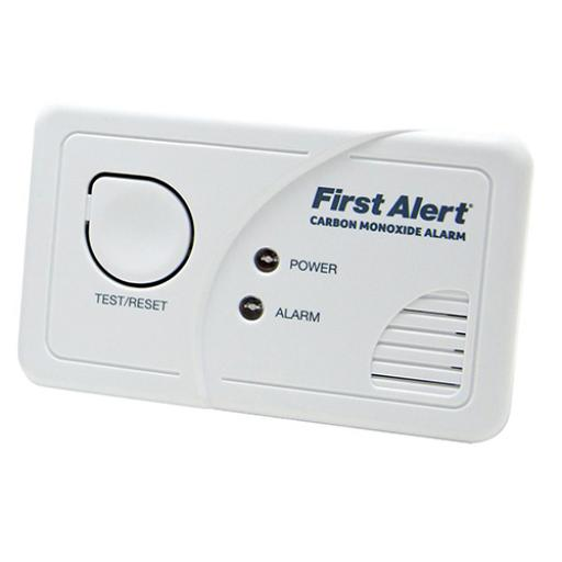 First Alert Carbon Monoxide Detector Alarm LED and Fittings 85dB Ref FT0409