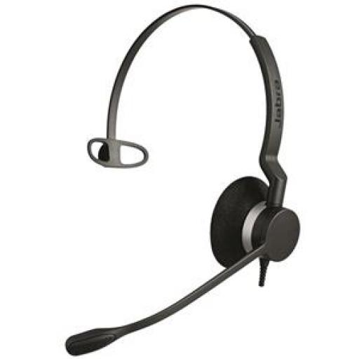 Jabra BIZ 2300 QD Corded Mono Headset with Microphone