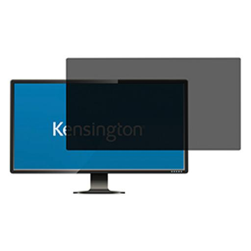 Kensington 626487 Privacy Filter 2 Way Removable 24 inch Widescreen 16:9