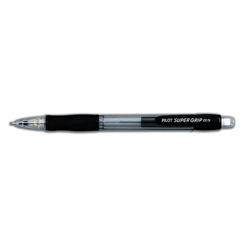 Pilot SuperGrip Mechanical Pencil with Cushion Grip 0.5mm Lead Ref H185SL01 [Pack 12]