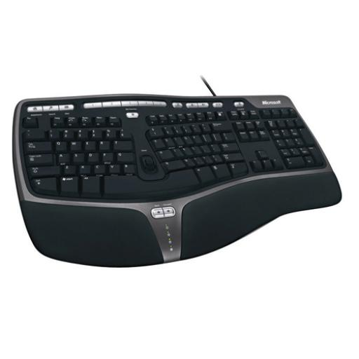 Microsoft Black Natural Ergonomic Keyboard 4000 B2M-00008