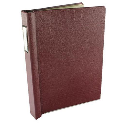 Twinlock 3C Crown Binder Size 324x229mm Maroon or Black Ref 75003