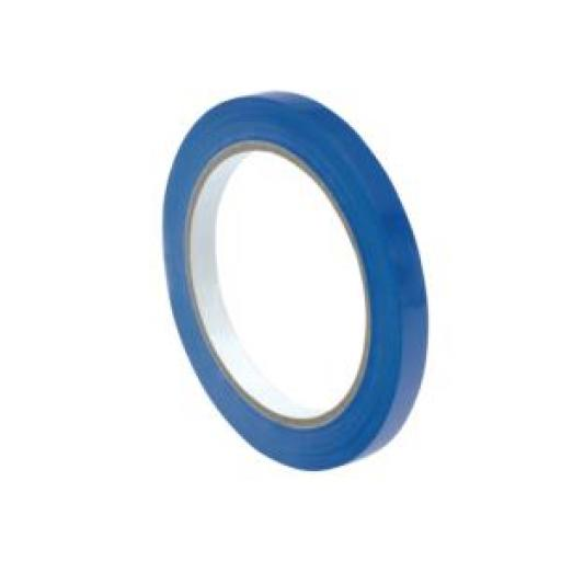Bag Sealer Vinyl Tape (9mm x 66m) Blue Pack of 6