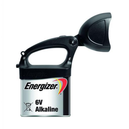 Energizer Expert LED Spotlight (Black) with LR820 6V Alkaline Lantern Battery
