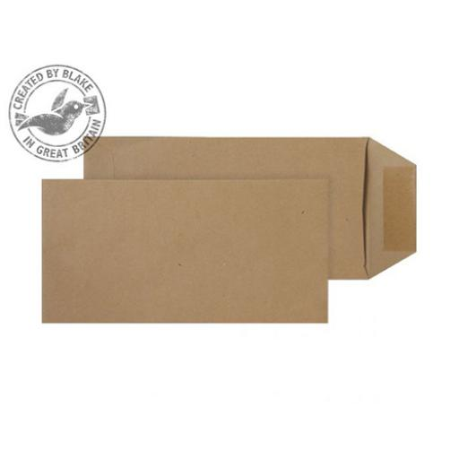 Blake Purely Everyday Envelope DL Pocket Gummed 80gsm Manilla Ref 23780 [Pack 500]