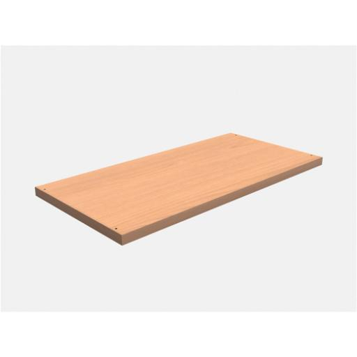 Trexus Extra shelf for Trexus Cupboards and Bookcase W764xD402xH25mm Beech