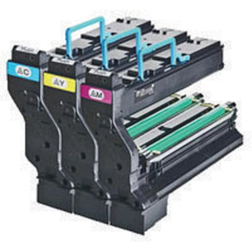 Konica Minolta Black Toner Cartridge (Pack of 3) 9960A1710606002 1710606-002