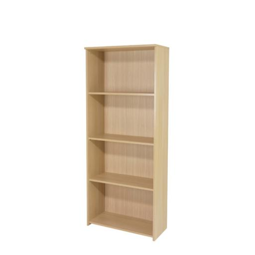 Jemini 1750mm Large Bookcase Warm Maple KF73835