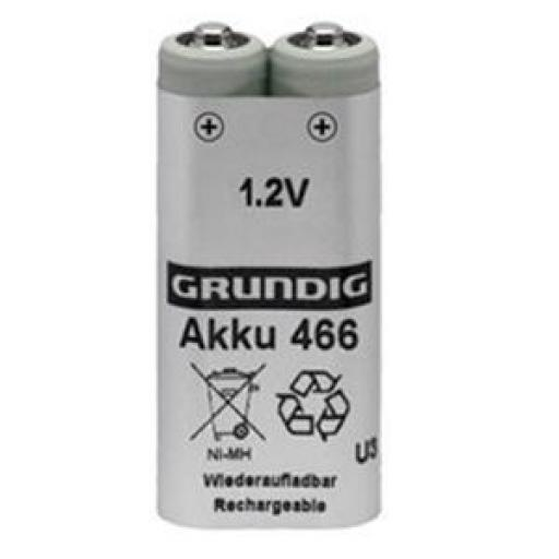 Grundig GD466 Rechargeable Batteries 1.2V (Pack of 2)