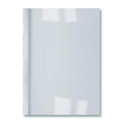 GBC Thermal Binding Covers 3mm Leathergrain White Ref IB451713 [Pack 100]