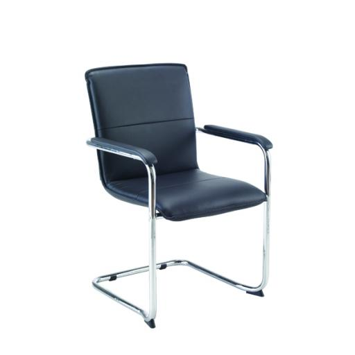 Jemini Leather Look Visitor Chair KF78702