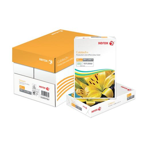 Xerox Colotech Plus Card 200gsm A4 White Ref 63793 [250 Sheets]