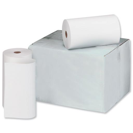 Telex Rolls 2-Ply W214xDia.120mm Plain and Pink [Pack 6]