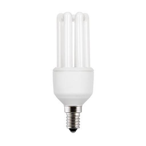 GE 11W T3 Hex E14 Compact Floures Tube 560lm EEC-A Daylight Ref 71501 *Up to 10 Day Leadtime*