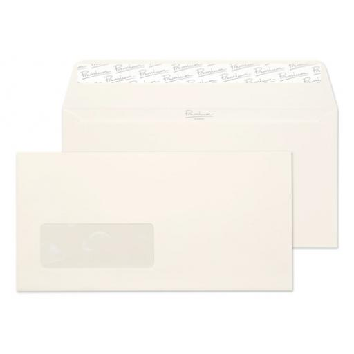 Blake Premium Envelope Wallet Window P&S 120gsm High White DL Ref 39884 [FREE Paper] Jan-Mar 2018