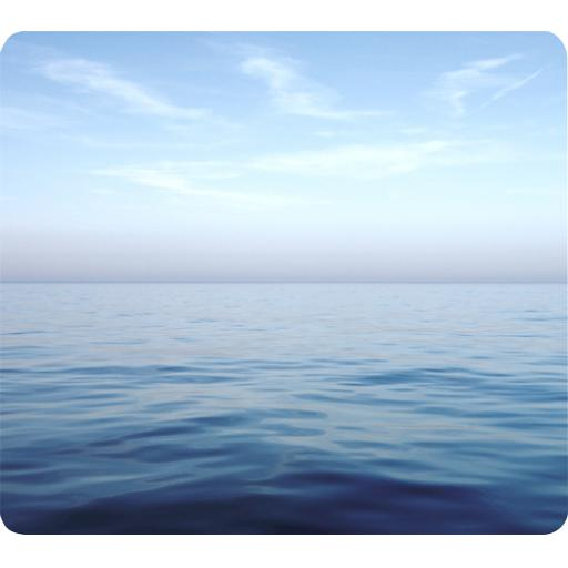 Fellowes Earth Series Recycled Mouse Pad (Blue Ocean) - Pack o f 6