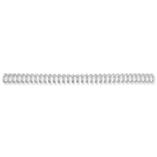 Fellowes (A4) 6mm Wire Comb (Silver) - 1 x Pack of 100 Wire Combs