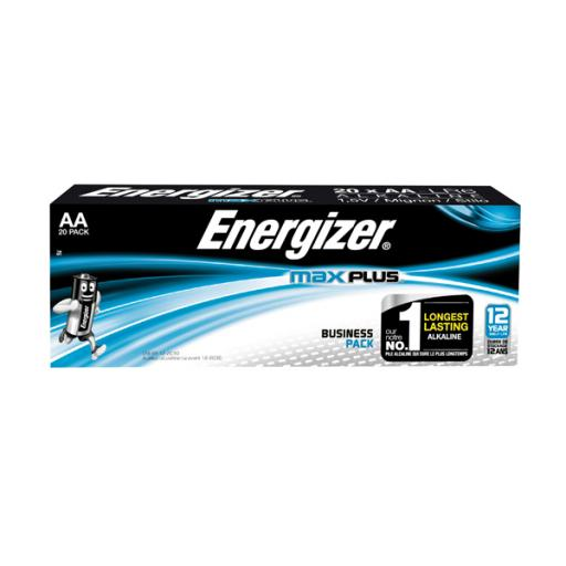 Energizer Max Plus AA Batteries (Pack of 20) E301323500