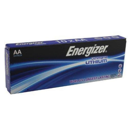 Energizer Ultimate Battery Lithium LR06 1.5V AA Ref 639753 [Pack 10]