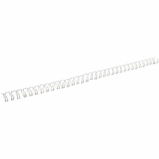 Fellowes (A4) 8mm Wire Comb (White) - 100 Pack