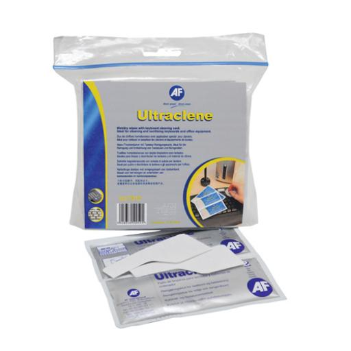AF Ultraclene Wet/Dry Wipes AULT010 (Pack of 10)
