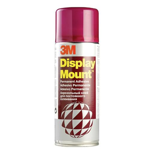 3M DisplayMount Adhesive Spray Can Instant Hold CFC-Free 400ml Ref DMOUNT