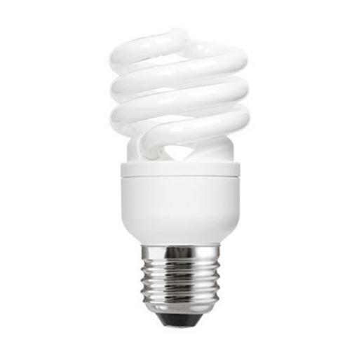 GE 15W T2 Heliax E27 Spiral Cpt Flres Bulb Screw Fit 900lm EEC-A Daylight Ref85636 *Up to 10Day Leadtime*