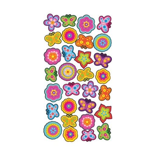Wobbly and Scented Stickers (Pack of 24) TM8813