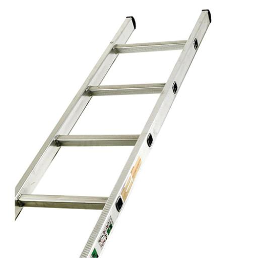 Aluminium Ladder Single Section 16 Rungs Capacity 150kg