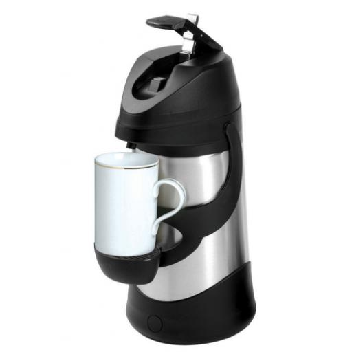 Pump Vacuum Jug Stainless Steel Dishwasher Safe 1.9 Litre