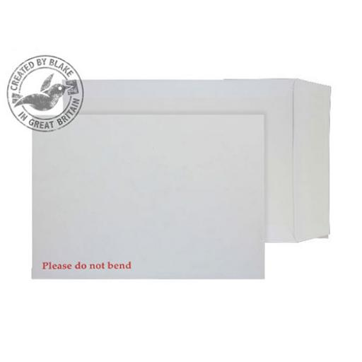Blake Purely Packaging Env Board Back P&S 241x178mm 120gsm White Ref 6112 [Pack125]