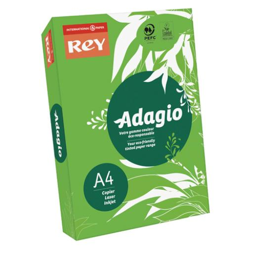 Adagio Intense Deep Green A4 Coloured Card (Pack of 250) 201.1221