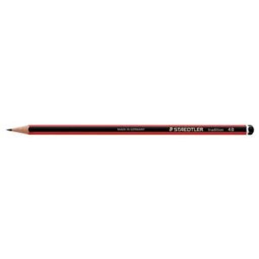 Staedtler Tradition 110 (4B) Cedar Wood Pencil (Pack of 12 Pencils)