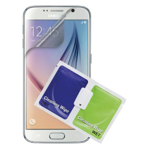 Samsung S6 Clear Screen Protector Twin Pack CSS6P2CLI