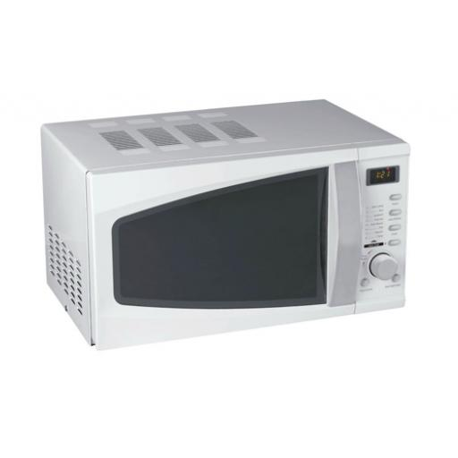 5 Star Facilities Microwave Oven 800W Digital 20 Litre White *2017 Mailer*