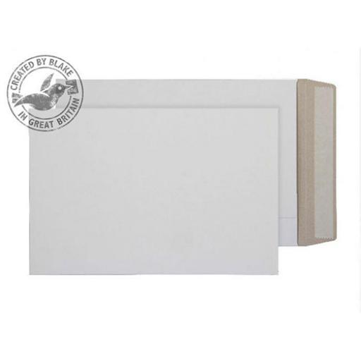 Blake Purely Packaging Envelope All Board P&S C4 350gsm White Ref PPA9 [Pack 100]