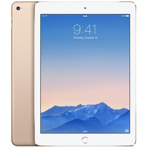 Apple iPad Air 2 (9.7 inch Multi-Touch) Tablet PC 16GB WiFi Bluetooth Camera Retina Display iOS 8.0 (Gold)