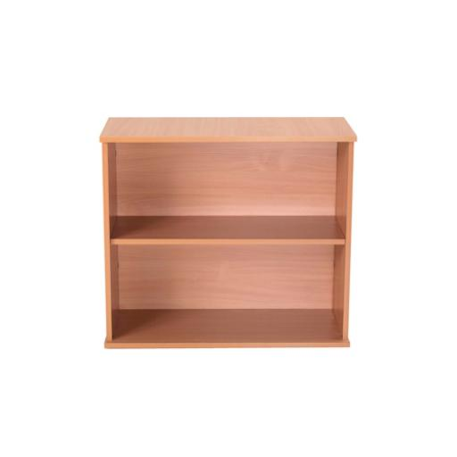 Jemini Intro 800mm Bavarian Beech Desk High Bookcase KF74130
