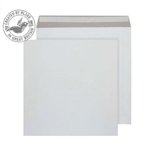 Blake Purely Packaging Env All Board P&S 340x340mm 350gsm White Ref PPA13 [Pack 100]
