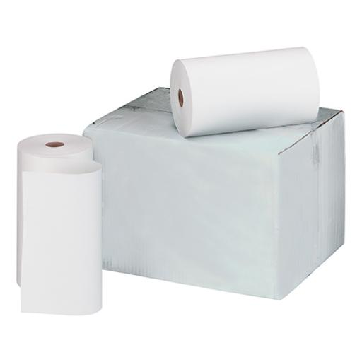 Telex Rolls 1-Ply W214xDia.120mm White Bond [Pack 6]