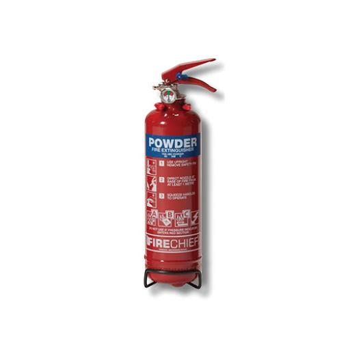 IVG 1.0KG Powder Fire Extinguisherfor Class A, B and C Fires Ref WG10116