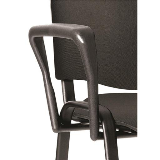 Trexus Arm Set for Stackable Chair Soft Touch Black Ref AC000002