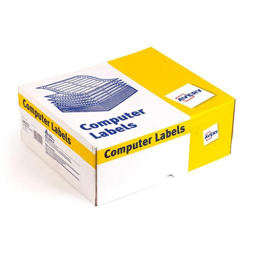 Avery Computer Labels One Wide on Web 102x37mm Ref 6423/1 [10000 Labels]