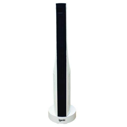 2kW PTC Ceramic Tower Fan Heater White IG9032