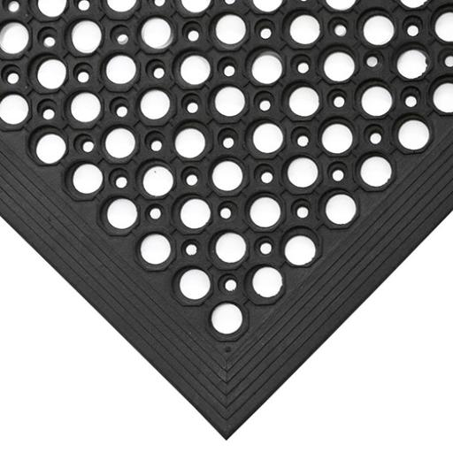 COBA Ramp Entrance Mat Hard-wearing Bevelled Edge Rubber 800x1200mm Ref RP010002
