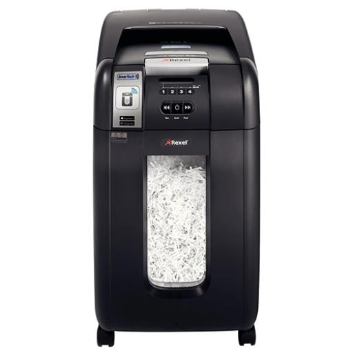 Rexel AutoPlus SmarTech 300X Shredder Cross Cut P-4 Ref 2103750S