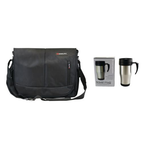 Motion II Courier Laptop Case with FOC Mug HM837988