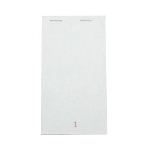White Small Duplicate Service Pads (Pack of 50) Pad 20