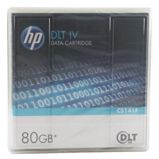 HP DLT Tape IV 40/80GB Data Cartridge